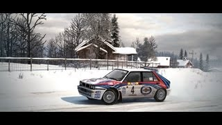 DiRT 3 - Martini Racing Lancia Delta HF Integrale - Monte Carlo Rally