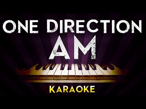 One Direction - AM | Higher Key Piano Karaoke Instrumental Lyrics Cover Sing Along