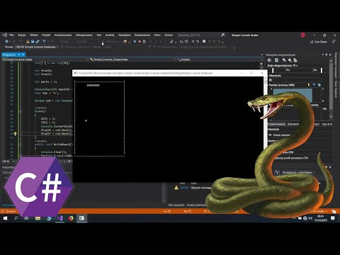Simple Console Snake C#