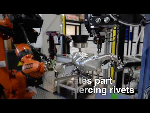 ADELPHI AUTOMATION - ROBOT RIVNUT AND CLIPPING CELL