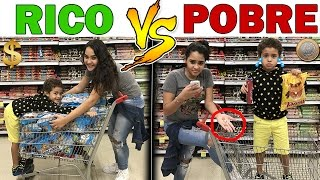RICO VS POBRE NO SHOPPING