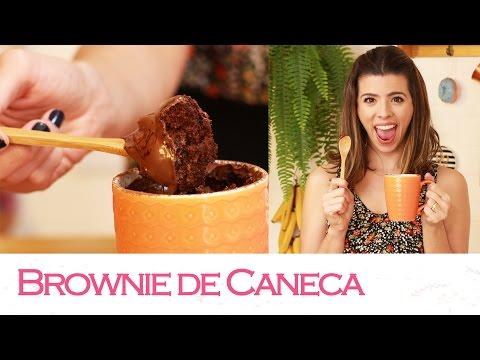 BROWNIE de CANECA em 5 minutos! | TPM, pra que te quero?