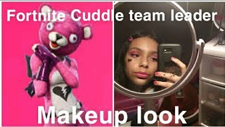Fortnite skin makeup look| Cuddle team leader