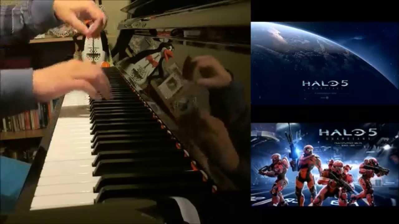 Halo 5: Guardians - Menu Theme (Advanced Piano Cover)