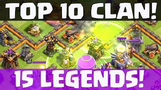 Clash of Clans - TOP TEN Clan - Tips for a Successful Clan