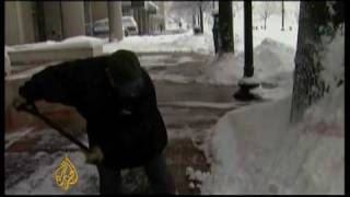 'Snowmageddon' Hits Washington Area