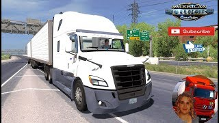 American Truck Simulator (1.35)   Freightliner Cascadia 2018 fix v1.10 by Galimin DLC Oregon by SCS Software + DLC's & Mods https://forum.scssoft.com/viewtopic.php?f=207&t=261518  Support me please thanks Support me economically at the mail vanelli.isabel