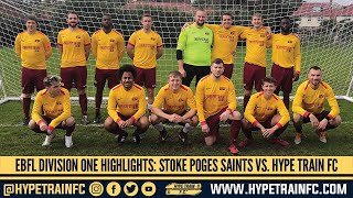 EBFL 2020/21 - Division 1 (Match 3): Stoke Poges Saints FC vs. Hype Train FC