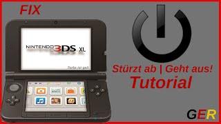 Nintendo 3DS stürzt ab | geht aus | FIX Tutorial [GER]