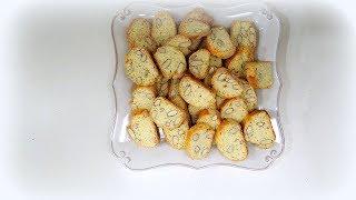 Рецепт приготовления хрустящее тосканское миндальное печенье Бискотти. рецепты от валентины