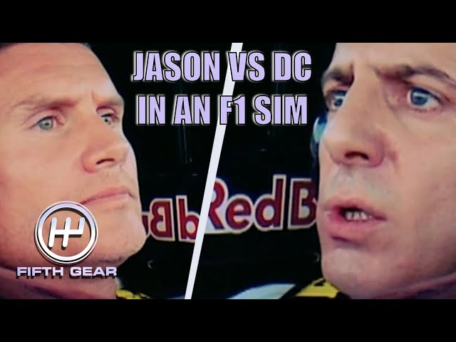 Jason Plato VS David Coulthard in an F1 Sim | Fifth Gear Classic