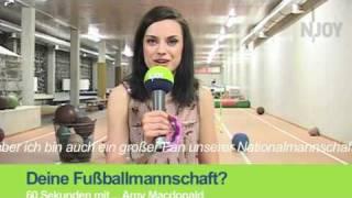 60 Sekunden mit ...  Amy McDonald - NJOY - NDR