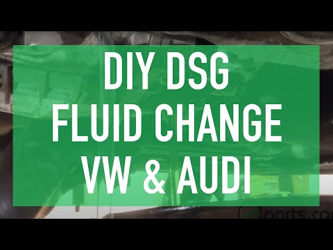 DIY DSG Fluid Change - DSG Service How To