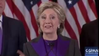 Hillary Clinton Delivers Concession Speech: 'I Am Sorry That We Did Not Win' 11/9/16