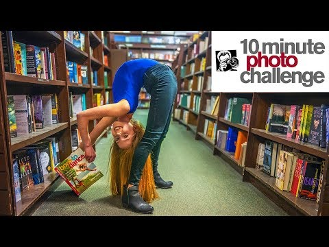 Nia Sioux and Anna McNulty Take Over Barnes & Noble for 10 Minute Photo Challenge (DANCE MOMS)