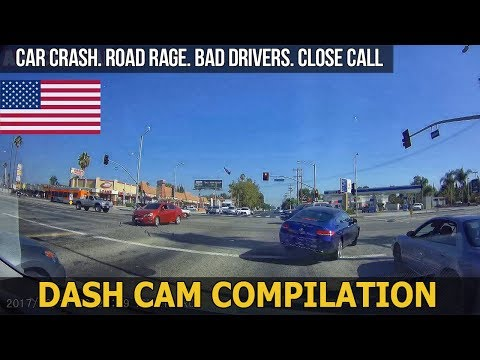 Car Crashes in America (USA) bad drivers, Road Rage 2017 # 42