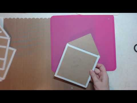 House Mini Album  GIVEAWAY & Tutorial Part 2 (chipboard) Prima Paper thumbnail