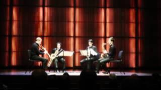 Keuris Quartet at Muziekgebouw