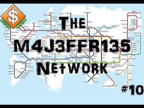 The M4J3FFR135 Network | OpenTTD | #10 | Gardtown Metro