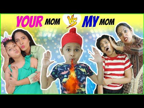 YOUR Mom Vs MY Mom | MyMissAnand  | ShrutiArjunAnand