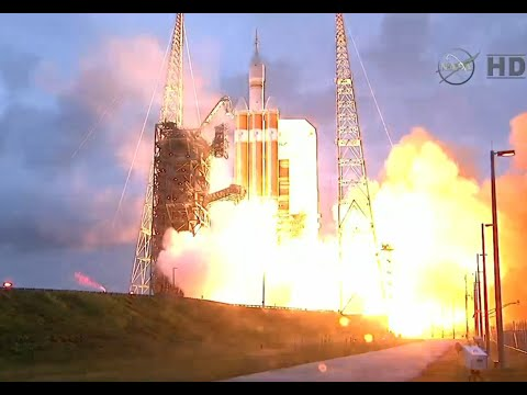 NASA Orion Spacecraft Launch from Cape Canaveral - 12/5/2014
