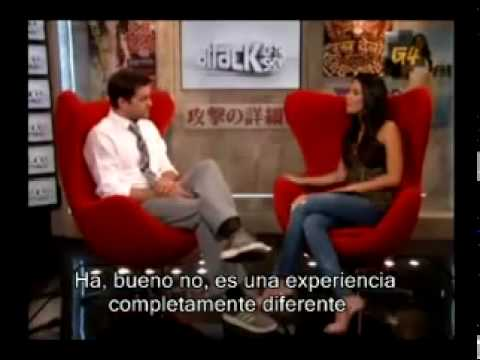 Joshua Jackson (Fringe) Interview on attack of the show -- Subs Español