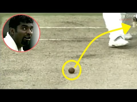 Top 5 Insane Spin Balls Bowled In Cricket History Ever - 2016