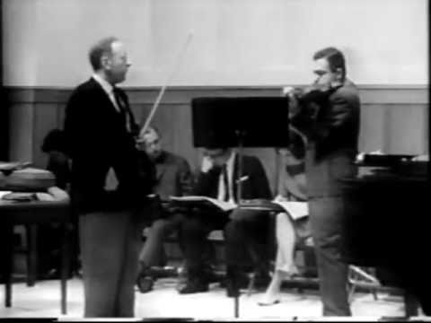 Heifetz - Chaconne (masterclass)