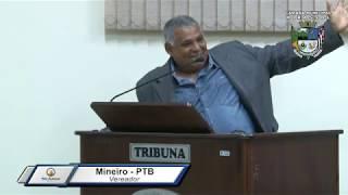 32ª Sessão Ordinária - Vereador Mineiro