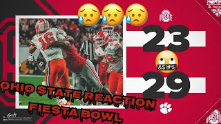 Ohio State's Season Ends With A Crushing 29-23 Loss To Clemson In The Fiesta Bowl | Reaction