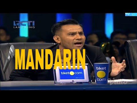 Judika membawakan lagu MANDARIN | LIVE Indonesian Idol 2018