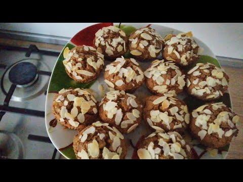 Низкоуглеводные ржаные (сладкие) кексы для диабетиков и не только