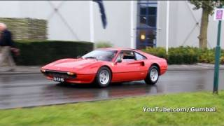 Ferrari 308 GTB/GTS startup + drive by sound!! 1080p HD