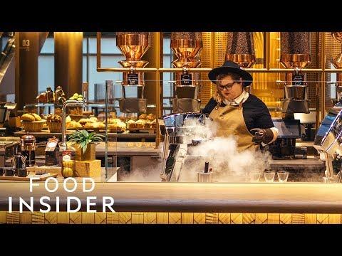 The World's Biggest Starbucks Just Opened In Chicago   Line Around The Block