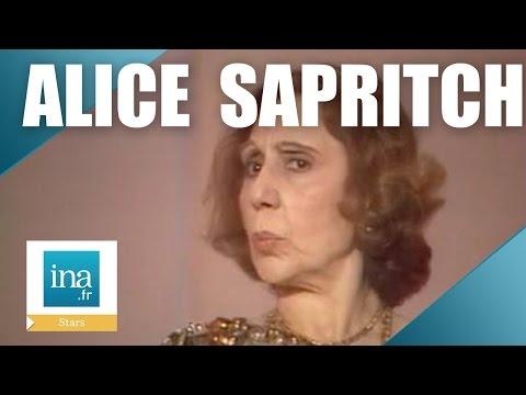 Alice Sapritch 'Thierry Le Luron dépasse la mesure'   Archive INA
