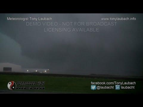 05/10/2014 Marshall, MO - Wedge Tornado & RFD