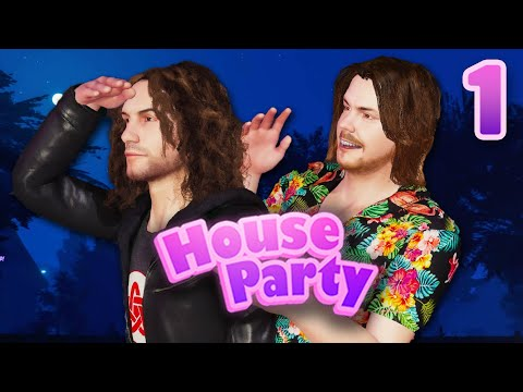 We are literally IN THIS GAME!!! - House Party: PART 1 from YouTube · Duration:  36 minutes 35 seconds