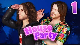 We Are Literally  N TH S GAME - House Party PART 1