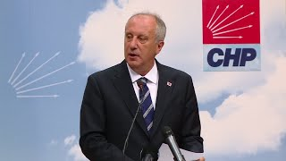 "Muharrem İnce: ""Turkey has transitioned to a one man regime"""