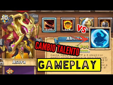 ASURA Best Talent FLAMEGUARD Or BULWARK? Analisi Finale Eroe | Castle Clash ITA