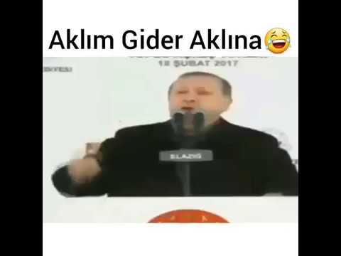 Recep Tayyip Erdoğan - Aklım Gider Aklına Versiyonu