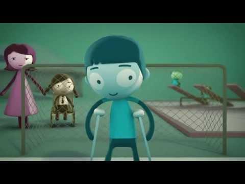 UNICEF e disabilità - Un cartone animato