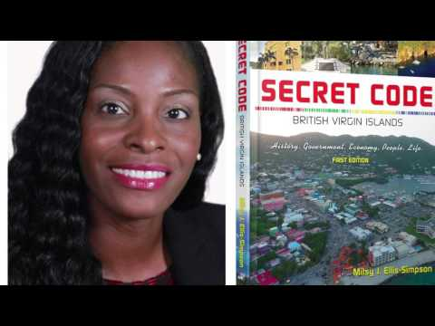 "New Book Release by Mitsy J. Ellis-Simpson, ""Secret Code: British Virgin Islands"""