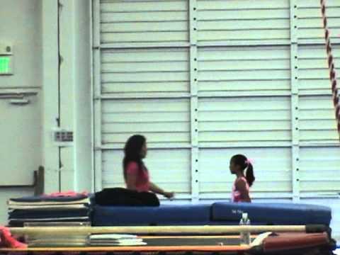 Erin's Pink Meet Invitational 2011- Younger division - Bay Aerials Gymnastics, Fremont,CA.