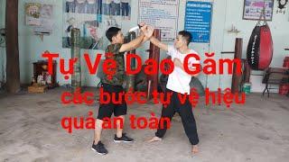 Các Bước Tự Vệ Dao Găm|tự vệ hiệu quả an toàn|Toankungfu