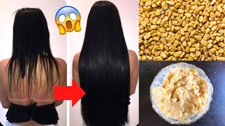 Grow Hair iFast With Fenugreek Fenugreek Hair Mask To Get Long Thick Healthy Beautiful Hair