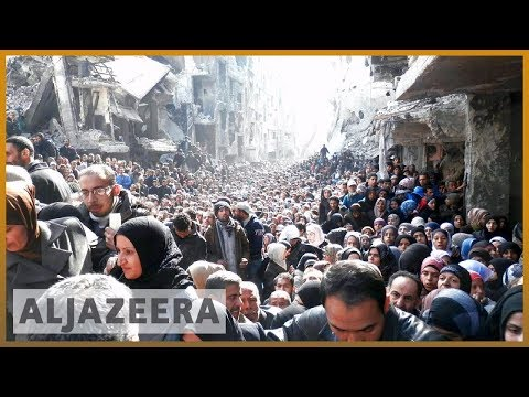 🇸🇾 Activists: ISIL fighters withdraw from Yarmouk | Al Jazeera English