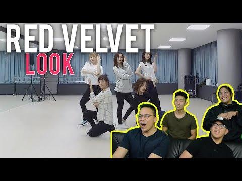 """""""LOOK"""" It's A RED VELVET Dance Practice (Reaction) #roadto100k"""