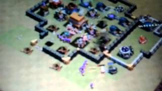 Battaglia di clash of clans in guerra