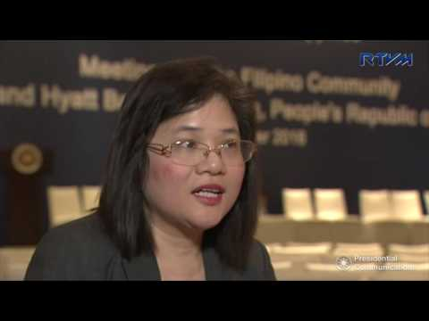 Interview with Philippine Embassy Charge d' Affaires Ad Interim Elizabeth Te